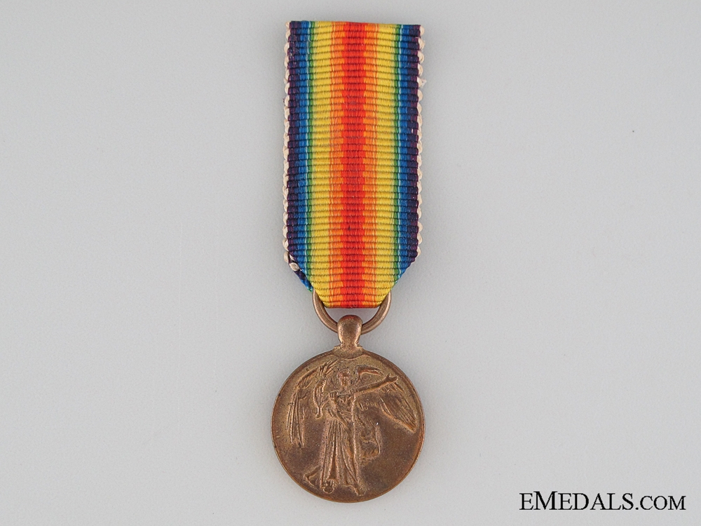 eMedals-WWI Miniature Victory Medal