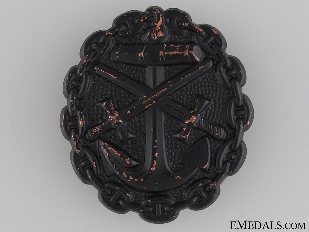 eMedals-WWI Naval Wound Badge