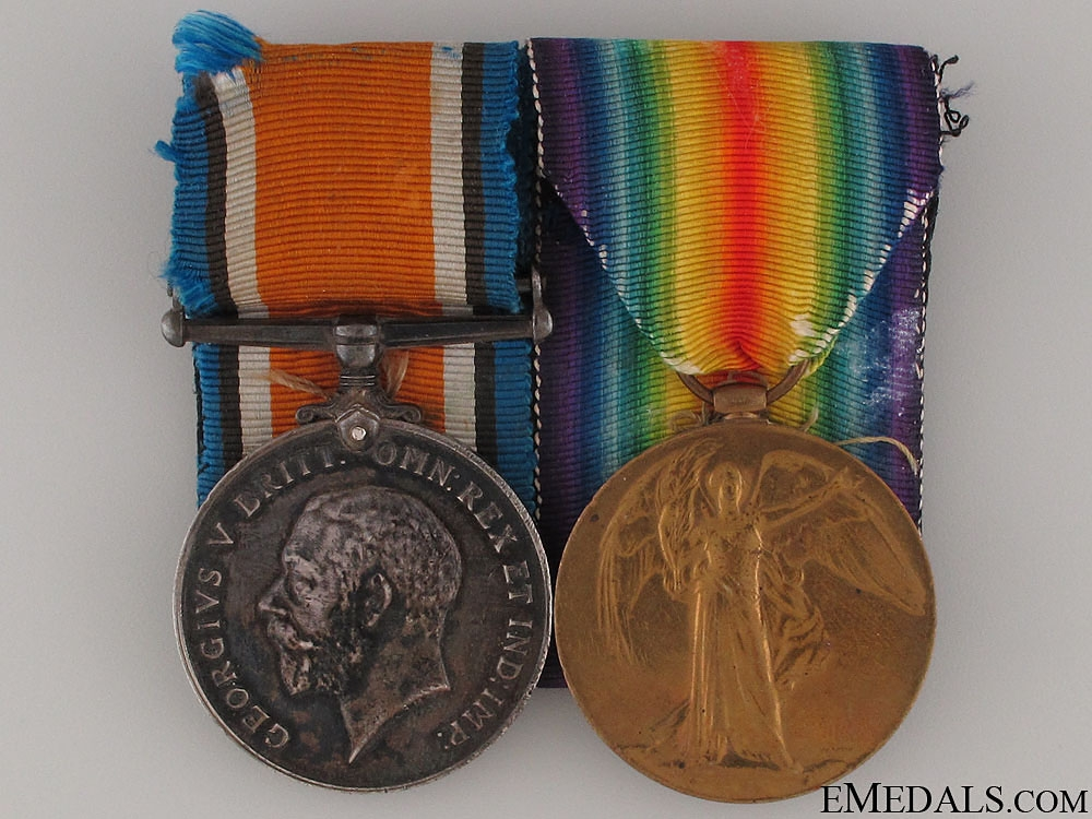 eMedals-WWI Pair to Gunner Gordon E. Findlay CFA