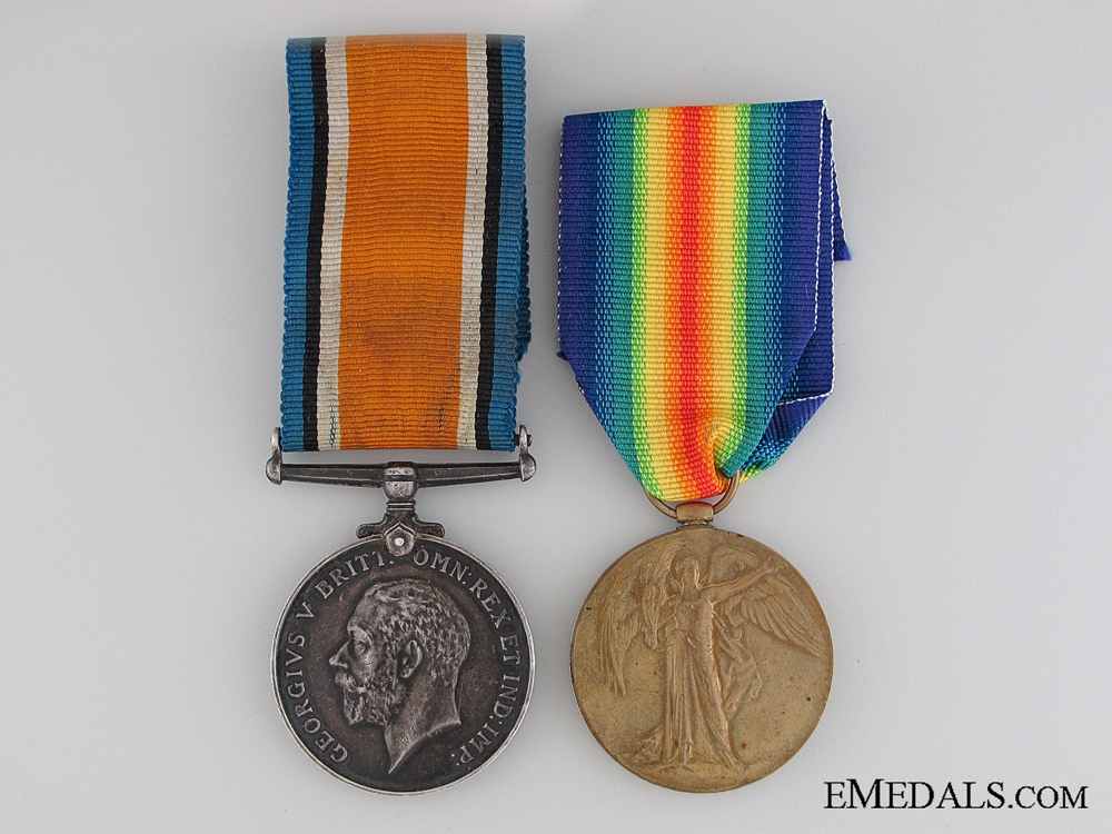 eMedals-A WWI Pair to the Canadian Railway Troops