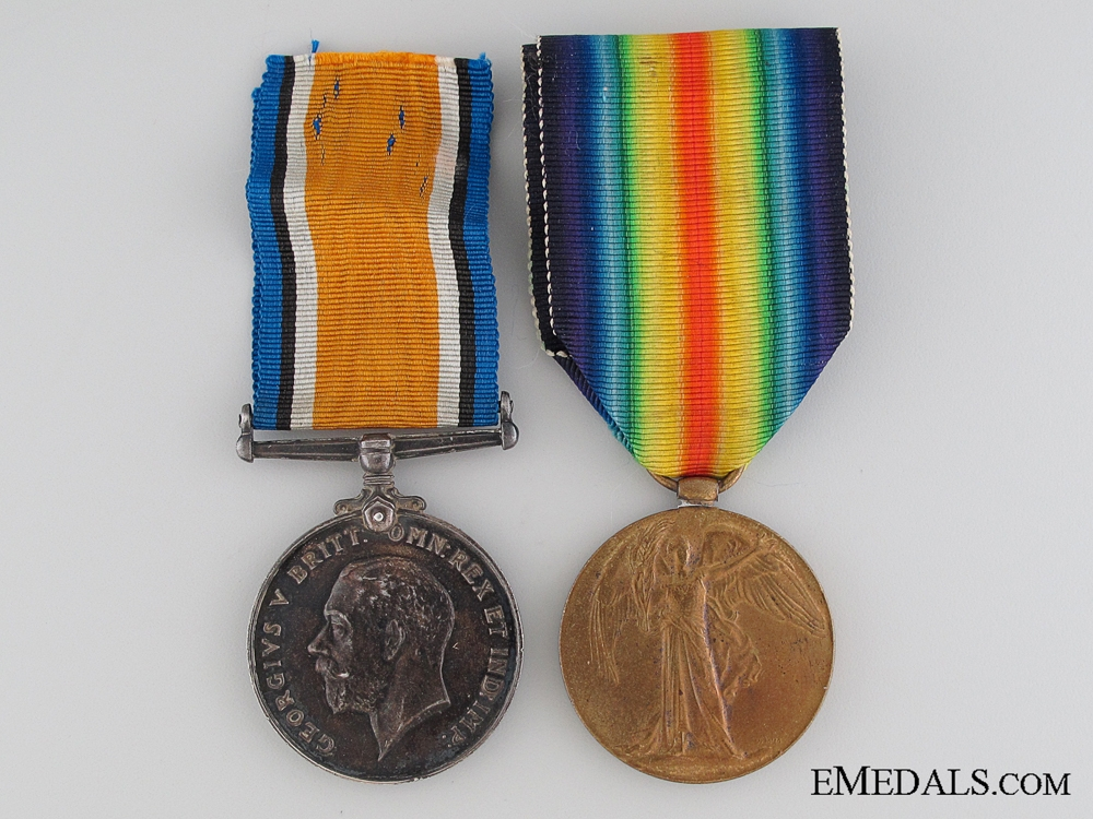 eMedals-WWI Pair to the Canadian Field Artillery