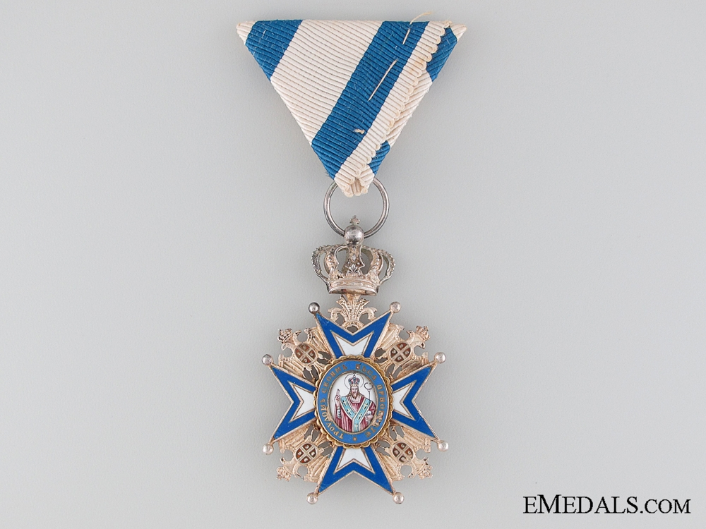 eMedals-WWI Period Order of St. Sava by A. Bertrand