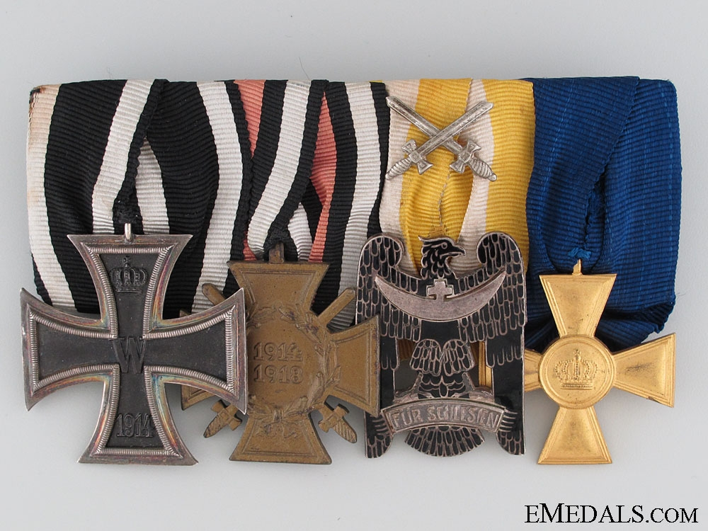 eMedals-WWI Prussian Medal Bar