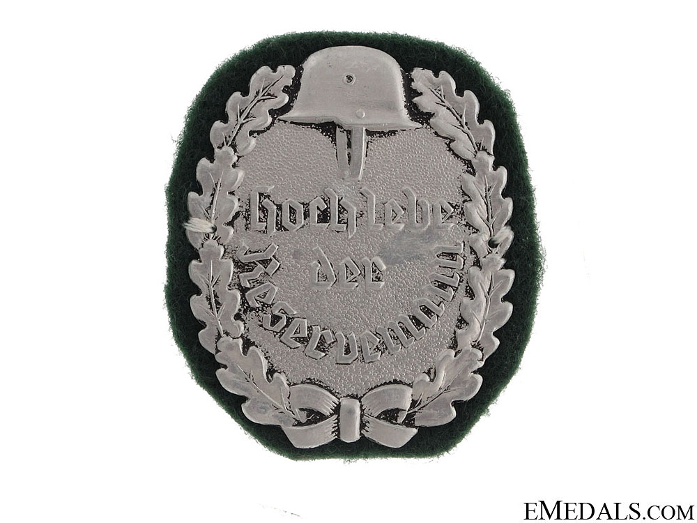 eMedals-WWI Reservist's Badge, 1914-1918