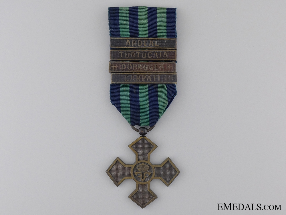 eMedals-WWI Romanian Commemorative Cross 1916-1918