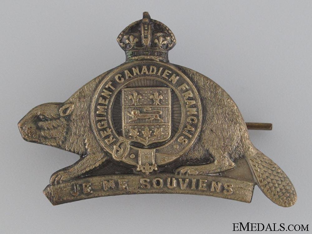 eMedals-WWI Royal 22nd Regiment Cap Badge