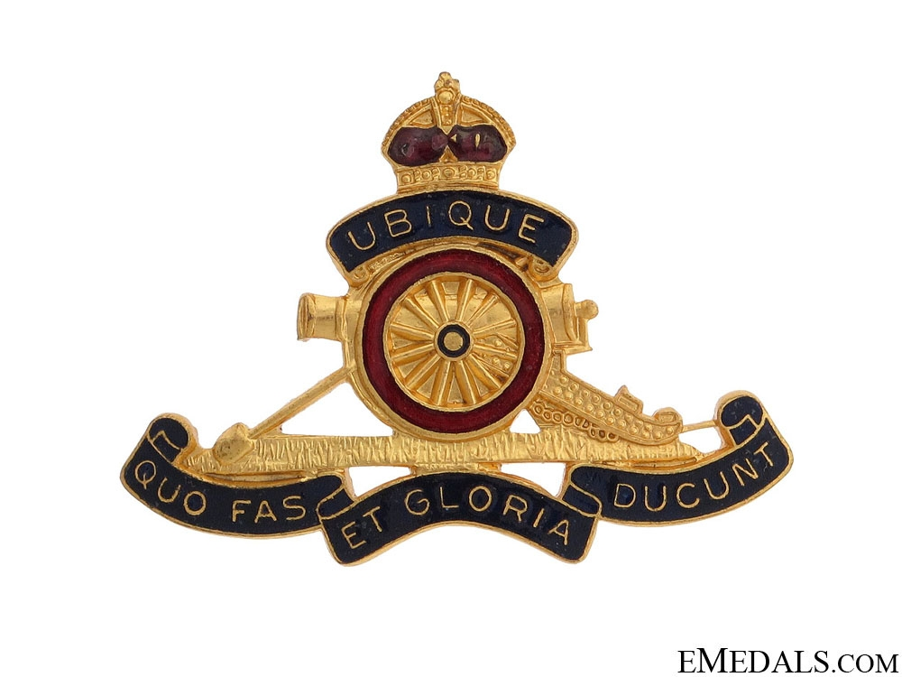 eMedals-WWI Royal Canadian Artillery Pin by Scully