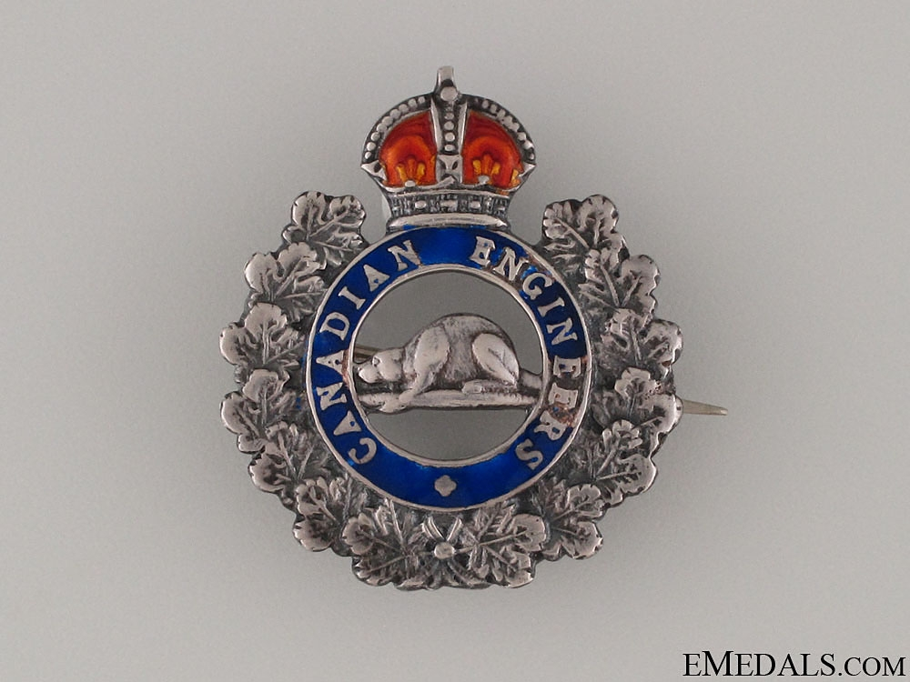 eMedals-WWI Royal Canadian Engineers Pin CEF