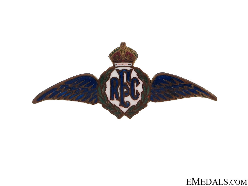 eMedals-WWI Royal Flying Corps Pin by Ryrie