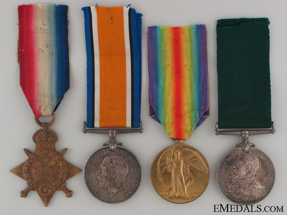 eMedals-WWI Royal Naval Reserve Group