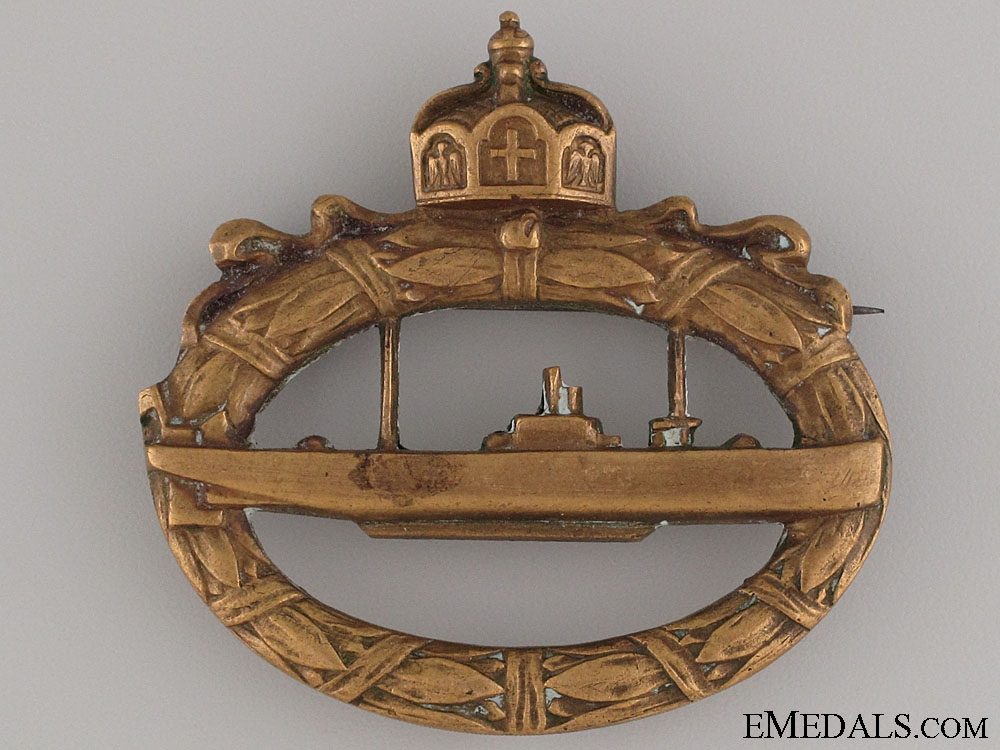 eMedals-WWI Submarine Badge