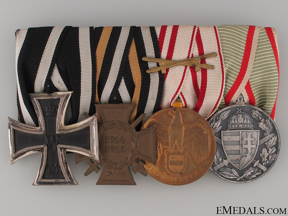 eMedals-WWI Veteran's Group of Four