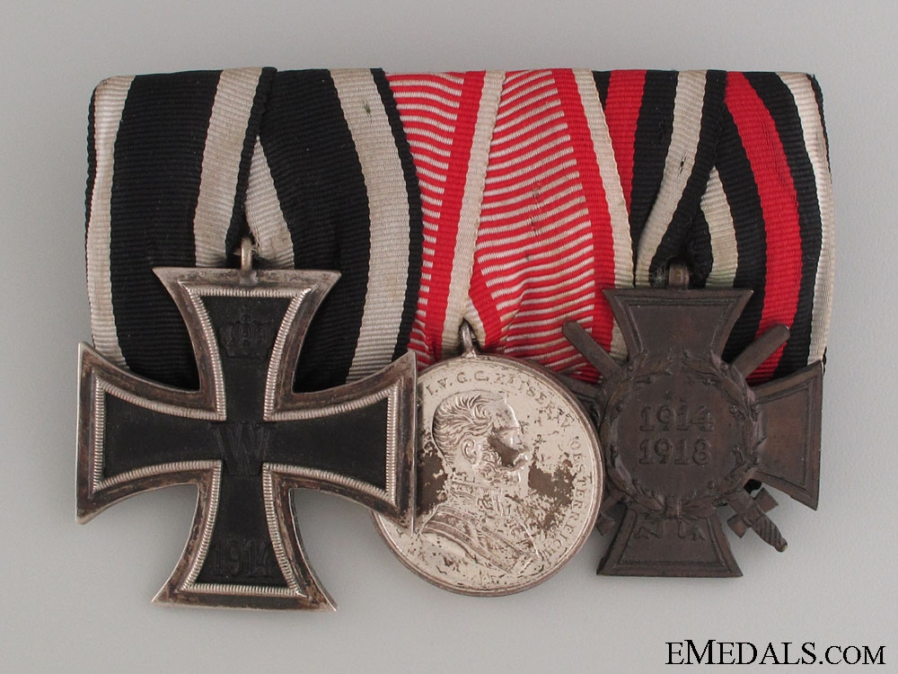 eMedals-WWI Veteran's Group of Three