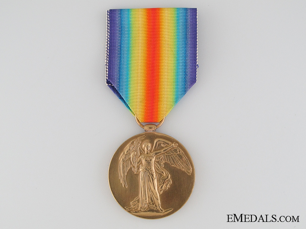 eMedals-South African WWI Victory Medal, Private J. Nagle, King's Royal Rifle Corps