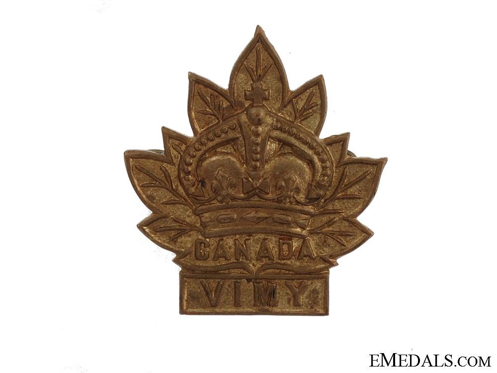 eMedals-WWI Vimy Pilgrimage Badge