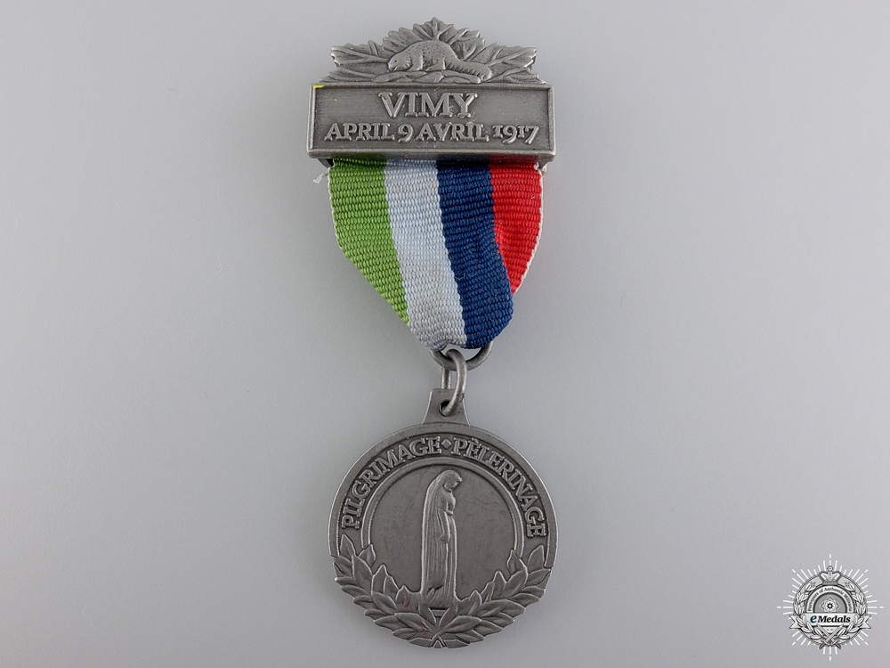 eMedals-WWI Vimy Pilgrimage 90th Anniversary Medal