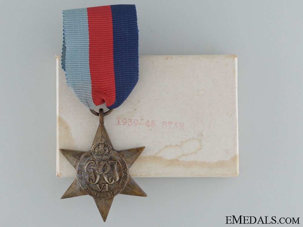 eMedals-WWII 1939-1945 Star with Box