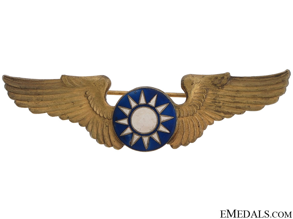 eMedals-WWII 1st American Volunteer Group Pilot's Wings