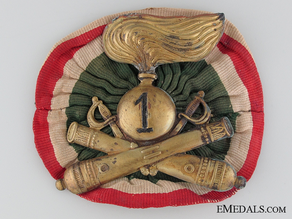 eMedals-WWII 1st Artillery Cavalry Division Insignia