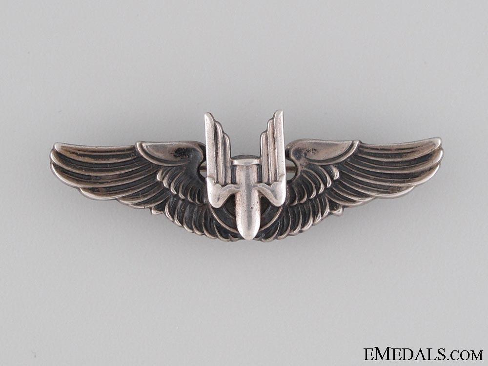 eMedals-WWII Aerial Gunner Wings Badge