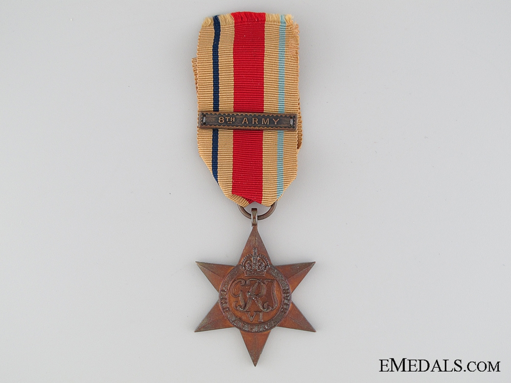 eMedals-WWII Africa Star