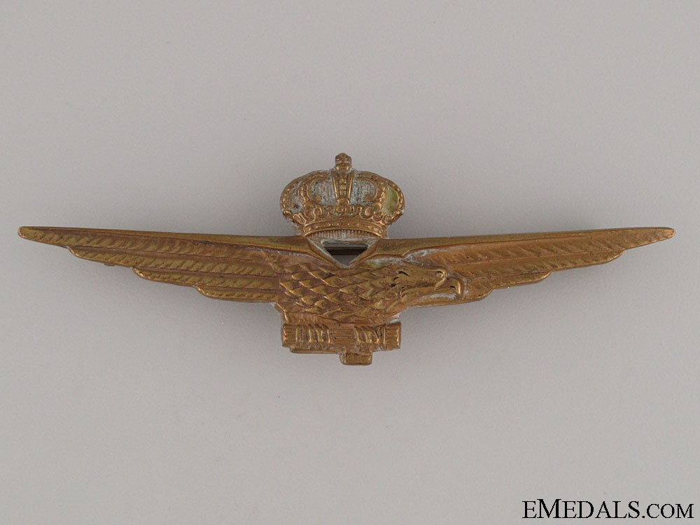 eMedals-WWII Air Force Pilot's Badge, c. 1940