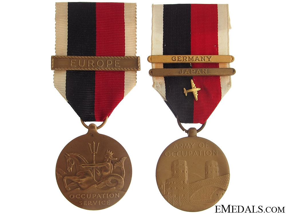 eMedals-WWII American Occupation Medals