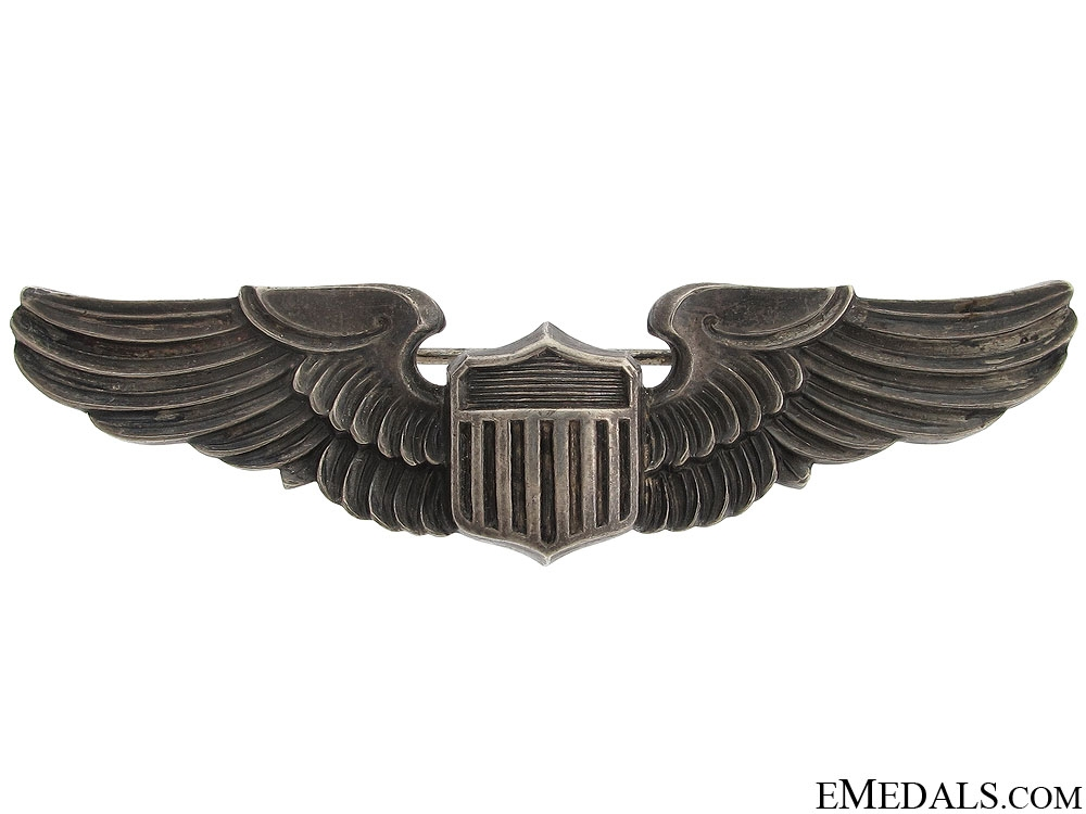 eMedals-WWII American Pilot Wing