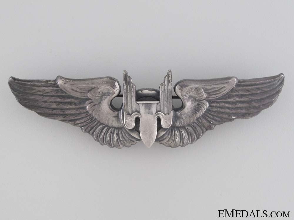 eMedals-WWII Army Air Force Aerial Gunner Wings Badge
