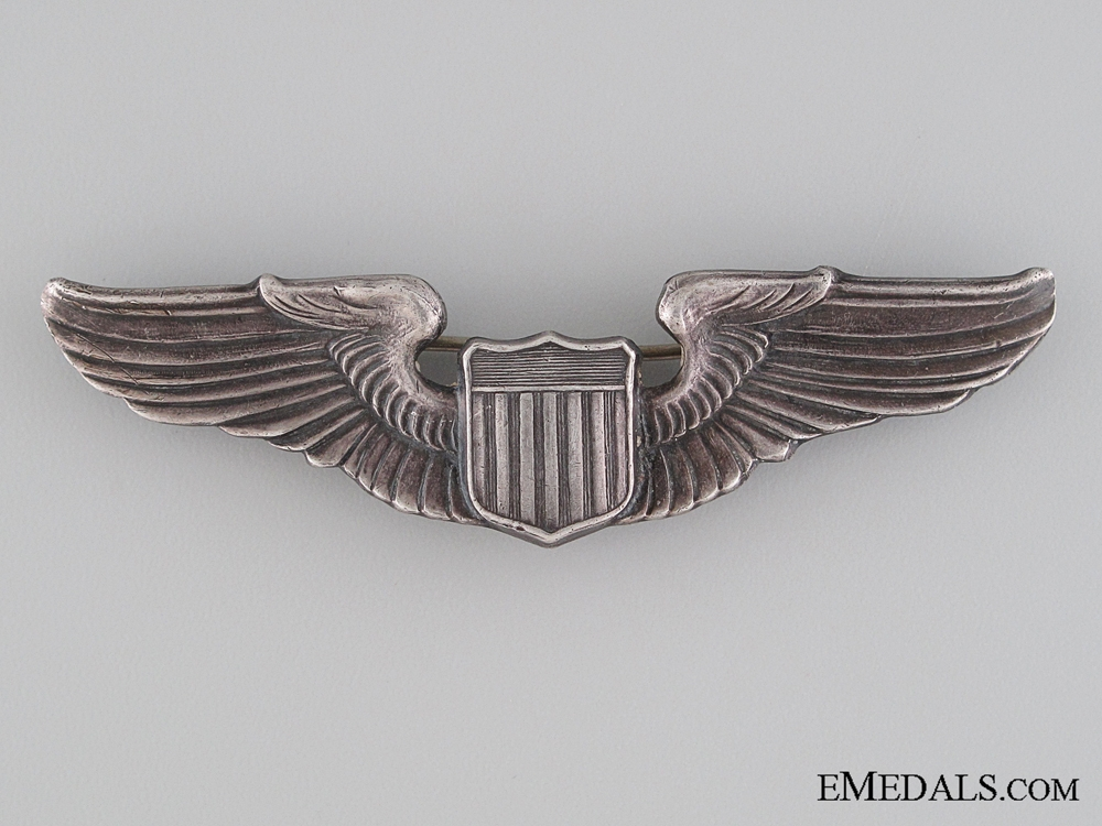 eMedals-WWII Army Air Force Pilot Badge