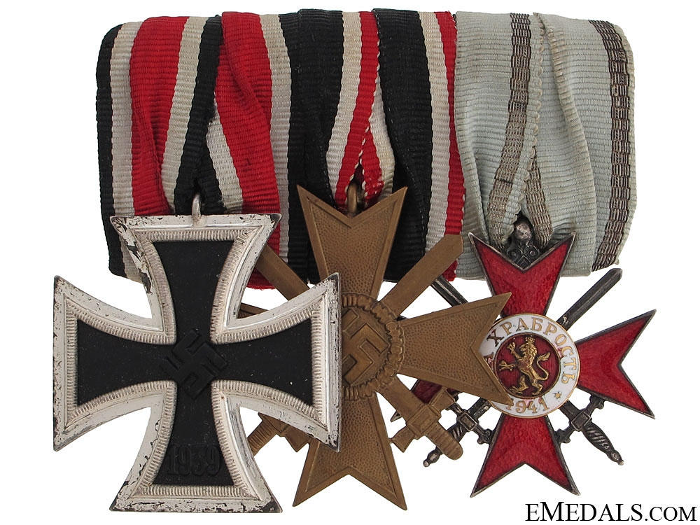 eMedals-WWII Army Group of Three