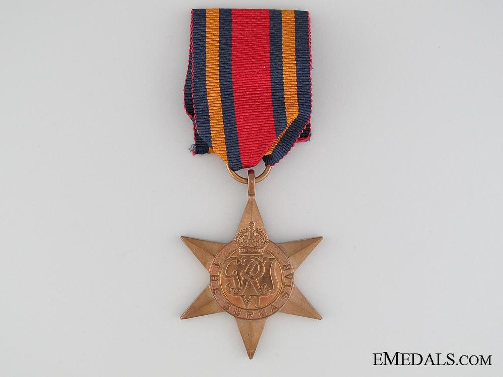 eMedals-WWII British Burma Star
