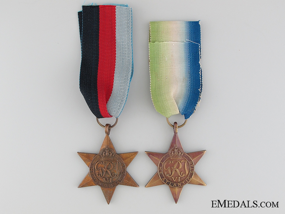 eMedals-WWII British Medal Pair