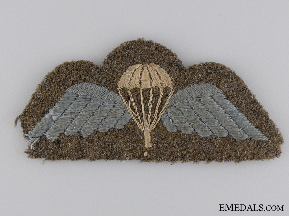 eMedals-WWII British Parachute Regiment Wing