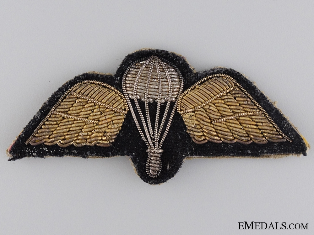 eMedals-WWII British Parachute Regiment Bullion Wing
