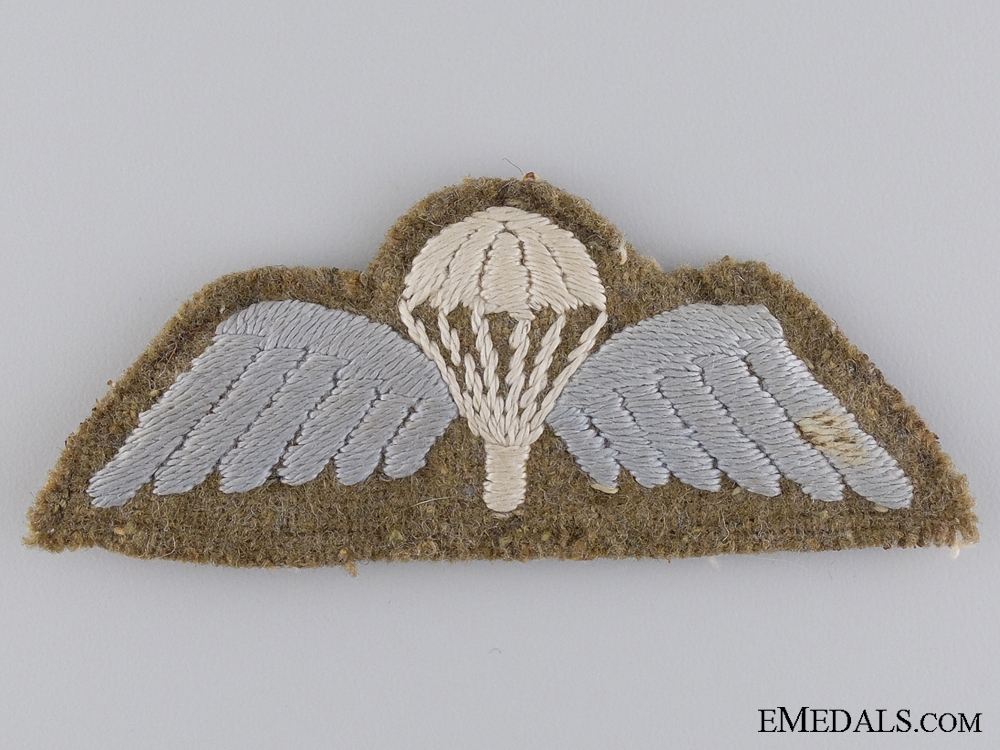 eMedals-WWII British Parachute Regiment Padded Wing