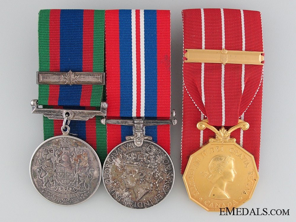 eMedals-WWII Canadian Forces Group