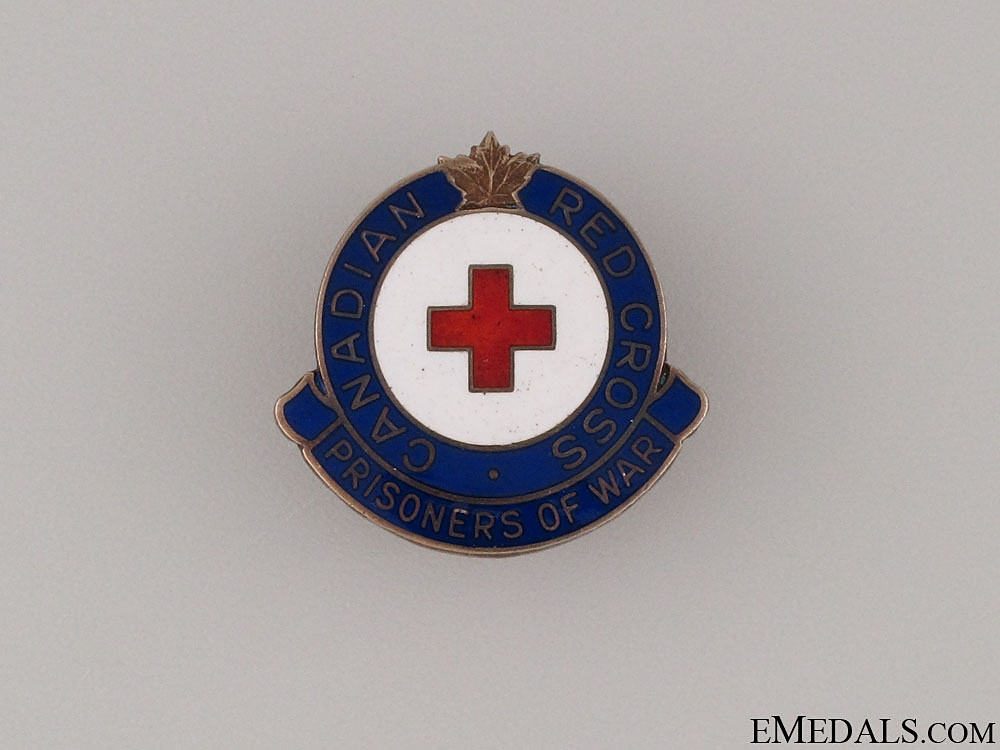 eMedals-WWII Canadian Red Cross POW Pin by Birks