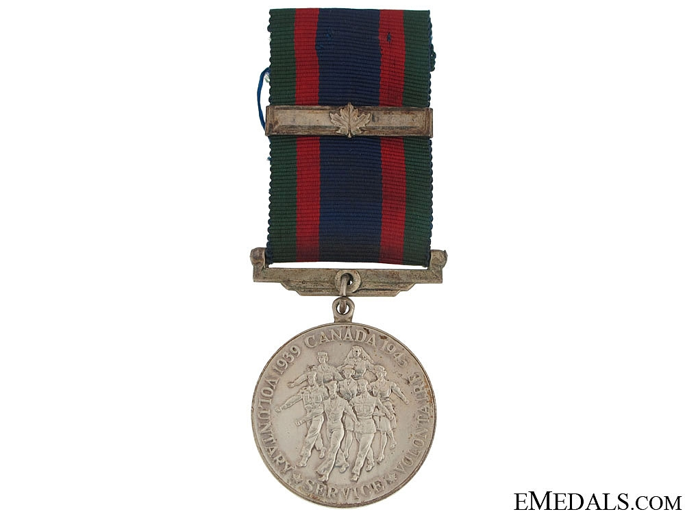 eMedals-WWII Canadian Volunteer Service Medal
