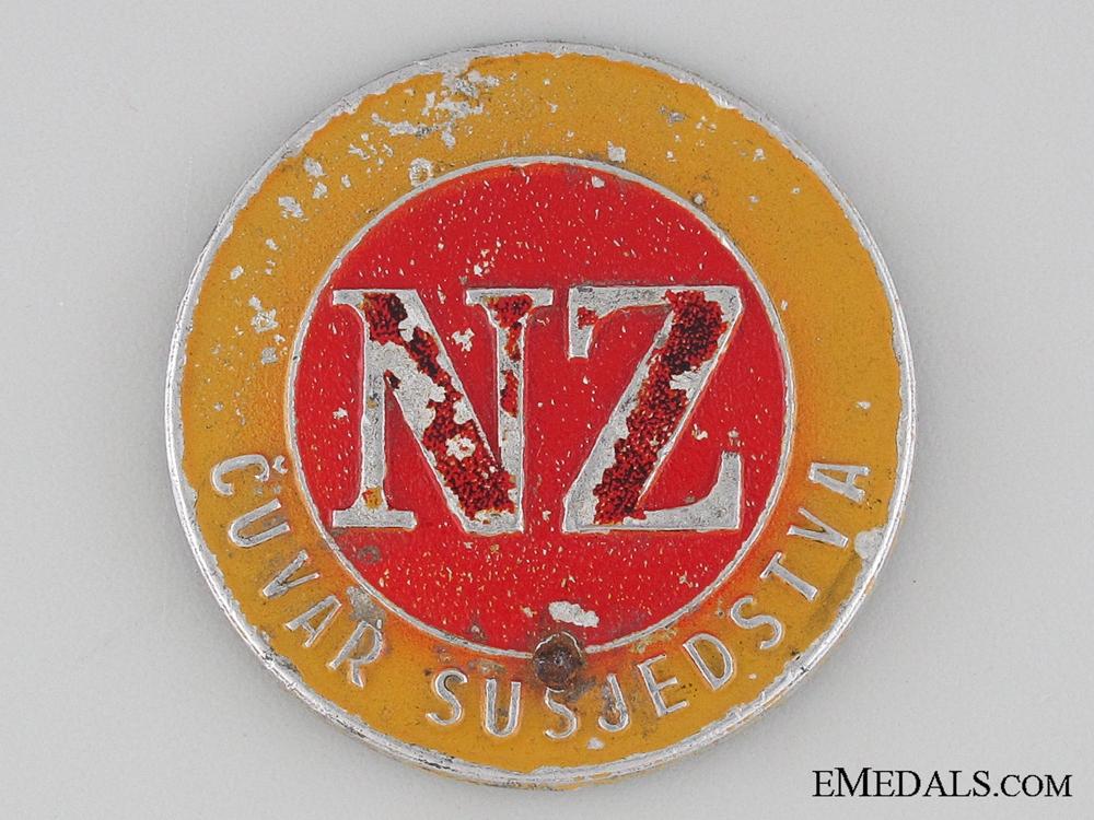 eMedals-WWII Civil Defense Badge
