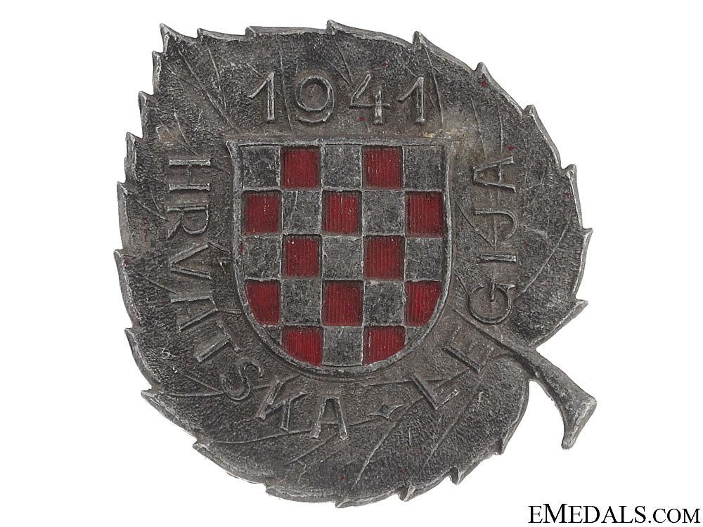 eMedals-WWII Croatian Legion Award