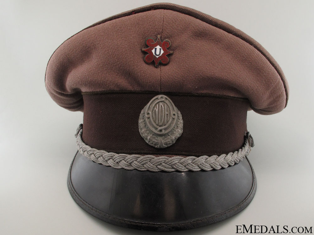 eMedals-WWII Croatian Medical Army Officer's Visor Cap