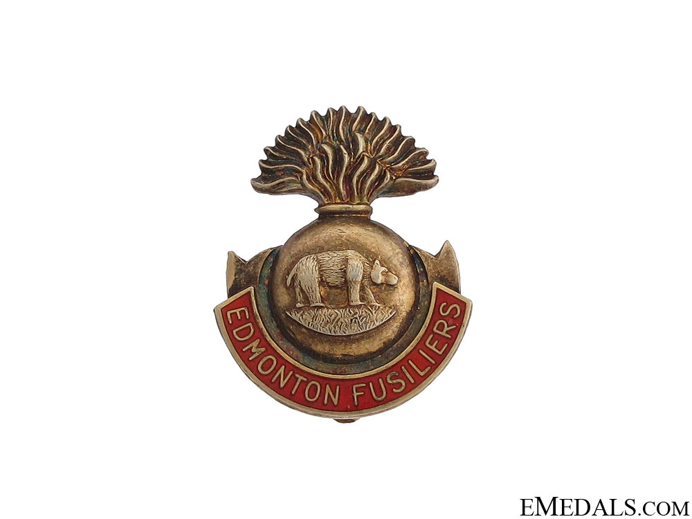 eMedals-WWII Edmonton Fusiliers Sweetheart Pin