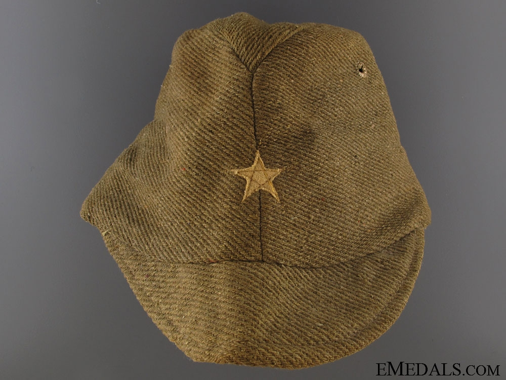 eMedals-WWII Enlisted Man's/ NCO`s Field Side Cap