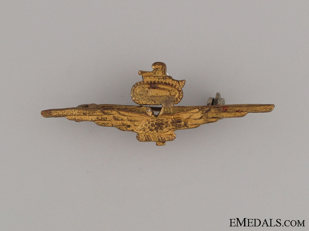 eMedals-WWII Fascist N. African Theatre Tank Buster Wings