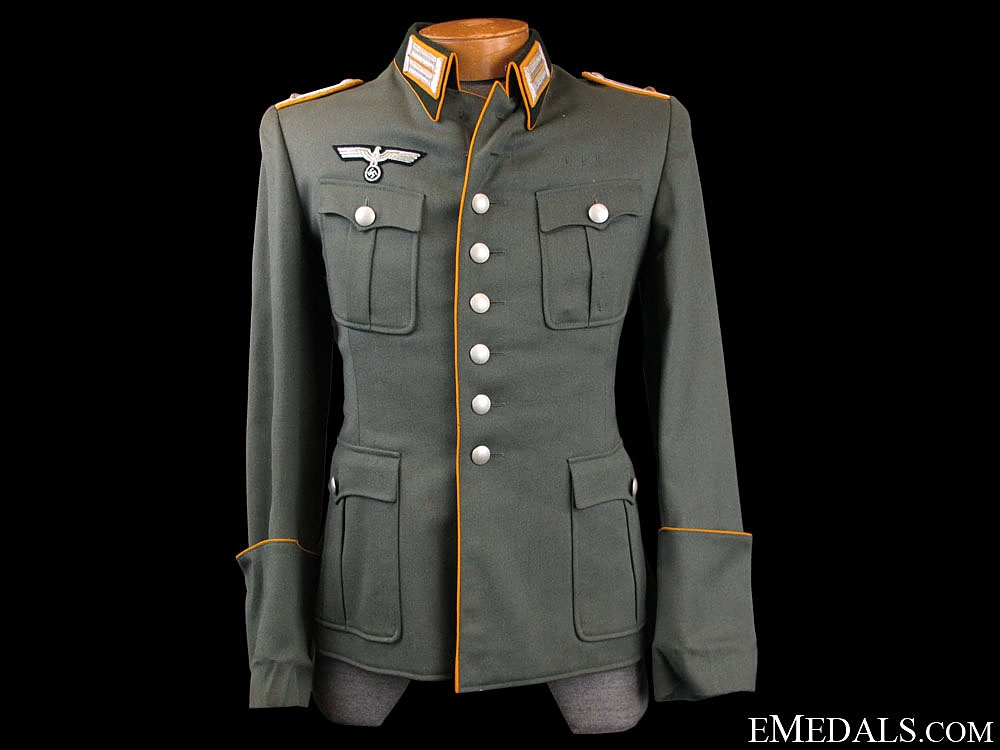 eMedals-WWII German Army Cavalry Officers Field Service Tunic