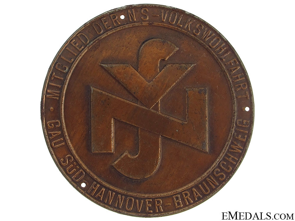 eMedals-WWII German Door Plate
