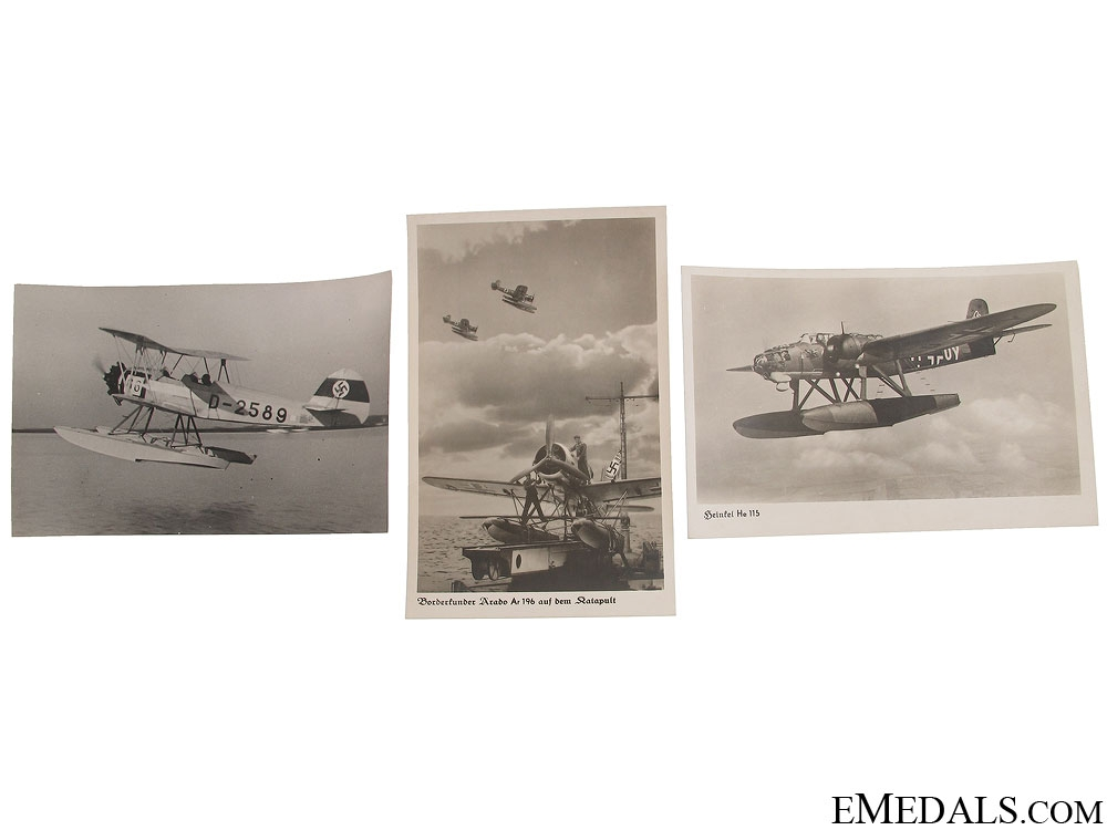 eMedals-WWII German Seaplane Photographs