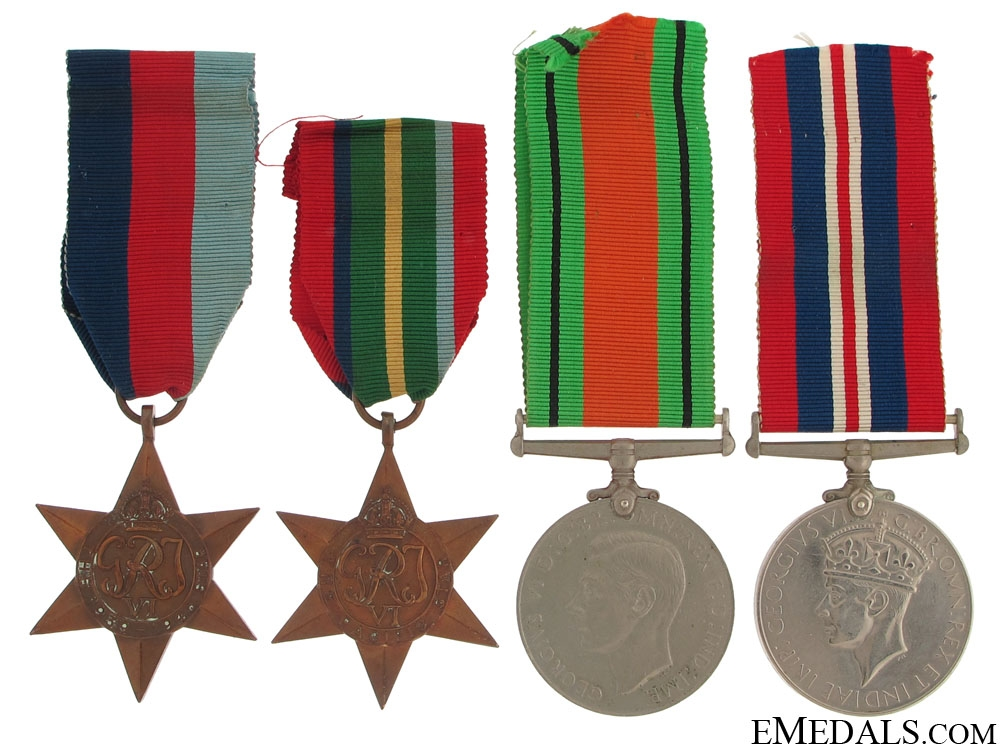eMedals-WWII Group of Four to the Royal Artillery