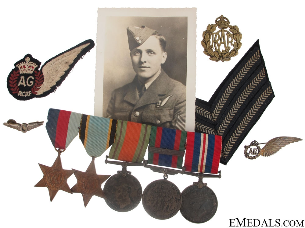 eMedals-WWII Group to Air Gunner Williams RCAF